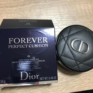 ディオール(Dior)のDior ディオールスキン フォーエヴァークッション 0N(ファンデーション)