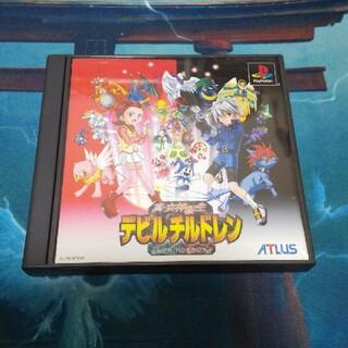 PlayStation - 【レア】真・女神転生 デビルチルドレン 黒の書・赤の書 PS1