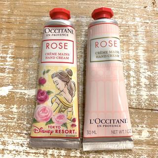 L'OCCITANE - ロクシタン ローズ ハンドクリーム 30ml 2個セット ベル 美女と野獣