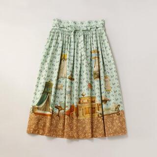 ジェーンマープル(JaneMarple)のDrawing room dress skirt(ひざ丈スカート)
