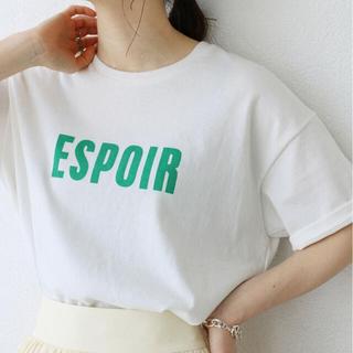 IENA - ★雑誌掲載★IENA Tシャツ