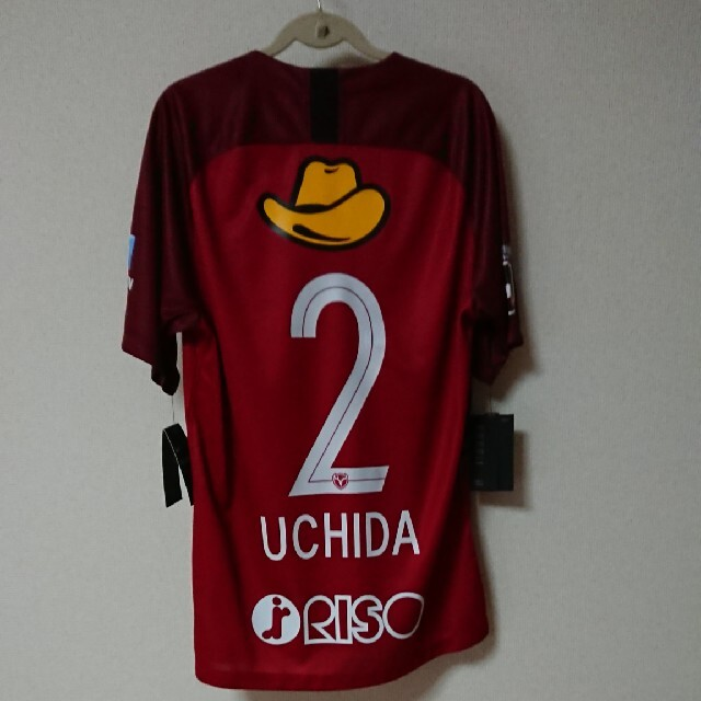 内田篤人 鹿島ユニフォーム スポーツ/アウトドアのサッカー/フットサル(ウェア)の商品写真