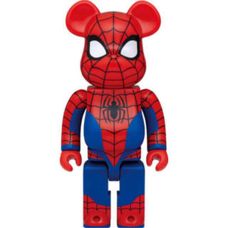 メディコムトイ(MEDICOM TOY)のベアブリック マーベル ハッピーくじ ラストワン 400% スパイダーマン (キャラクターグッズ)