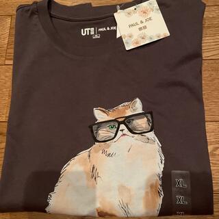UNIQLO - ユニクロ コラボTシャツ  ユニクロ ポール&ジョー Tシャツ ネコ XLサイズ