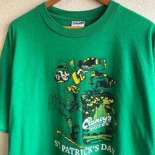 聖パトリックの祝日 プリント Tシャツ ジャージーズ