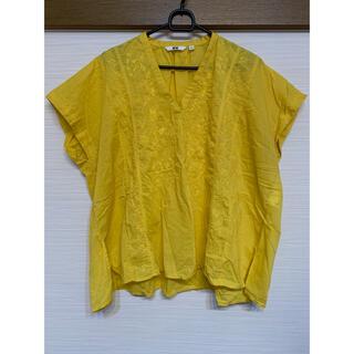 ユニクロ(UNIQLO)のフレンチスリープ ブラウス(シャツ/ブラウス(半袖/袖なし))