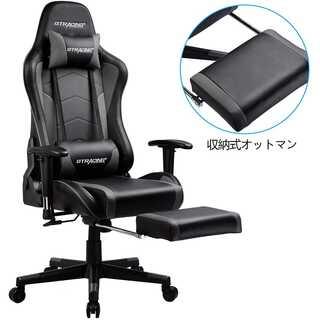 【新品/1年保証】スピーカー付き ゲーミングチェア GT890YJ(ハイバックチェア)