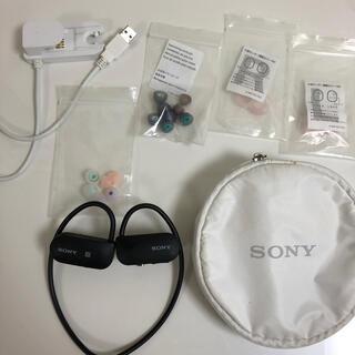 ソニー(SONY)のSONY SmartB-Trainer SSE-BTR1 黒 ワイヤレスイヤホン(ヘッドフォン/イヤフォン)
