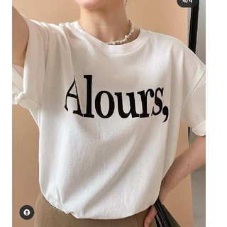 IENA - IENA フロッキーロゴシャツ
