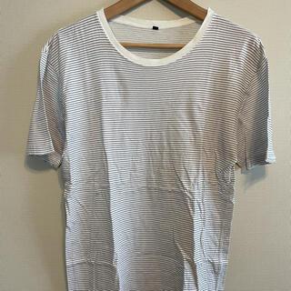 ムジルシリョウヒン(MUJI (無印良品))の無印 ボーダー Tシャツ(Tシャツ/カットソー(半袖/袖なし))