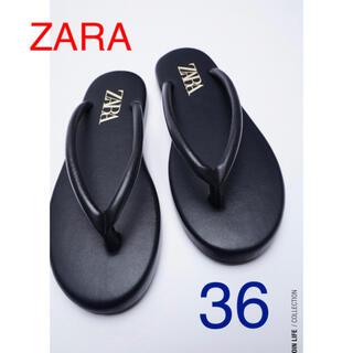 ZARA - (新品) ZARAサンダル size  36