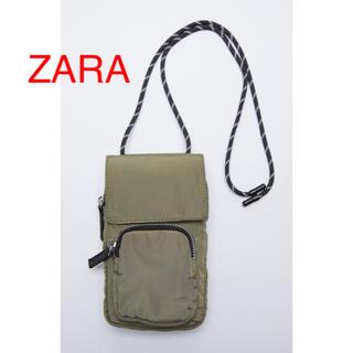 ZARA - (新品) ZARA ランヤードスマートフォンケース ZARAバッグ