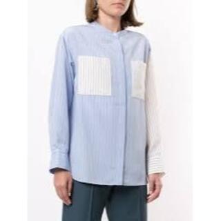 LE CIEL BLEU - 試着のみ LE CIEL BLEU ストライプシャツ