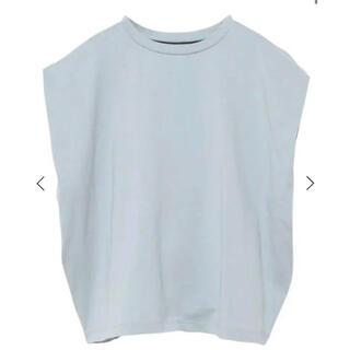 エイミーイストワール(eimy istoire)のeimy istoire パワーショルダーTシャツ(Tシャツ(半袖/袖なし))