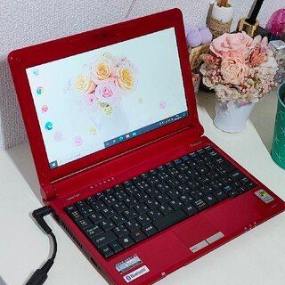 NEC - ★NECノート☆キラキラパールレッド色♪大容量HDD500GB♪最新オフィス付★