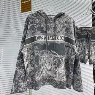Christian Dior - クリスチャンディオール パーカー ハーフパンツ セット