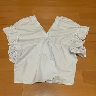 ディーホリック(dholic)のフリルブラウス(シャツ/ブラウス(半袖/袖なし))