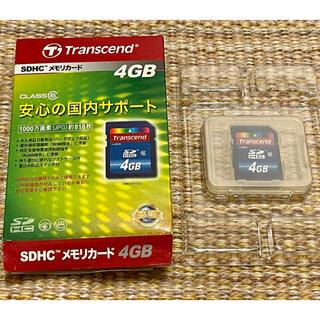 トランセンド(Transcend)のTranscend トランセンド SDカード 4GB(その他)