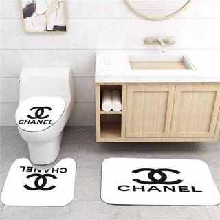 シャネル(CHANEL)の残り1点!!!CHANEL シャネル トイレマットセット トイレカバー3点セット(トイレマット)