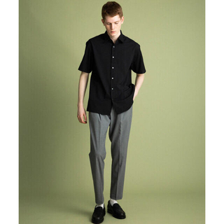 STUDIOUS - UNLTED TOKYO ボイルパナマショートスリーブシャツ