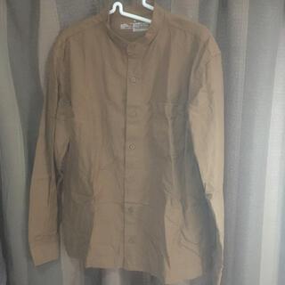 ムジルシリョウヒン(MUJI (無印良品))の無印良品 ワイシャツ ブラウン(シャツ)