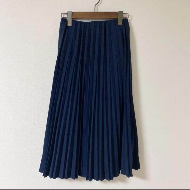 UNIQLO(ユニクロ)のユニクロ プリーツスカート ロングスカート レディースのスカート(ロングスカート)の商品写真