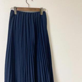 UNIQLO - ユニクロ プリーツスカート ロングスカート