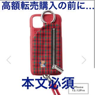 familiar - familiar ajew コラボ iPhoneケース