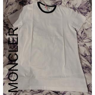 モンクレール(MONCLER)の超美品 MONCLER レディースTシャツ バックビックロゴ(Tシャツ(半袖/袖なし))