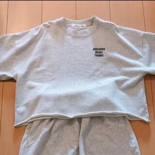 アリシアスタン(ALEXIA STAM)のALEXIASTAM スウェット トレーナー(Tシャツ(半袖/袖なし))