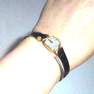 オメガ(OMEGA)の【HIROB購入】★OMEGA K14 腕時計★アンティーク★【特典つき!】(腕時計)