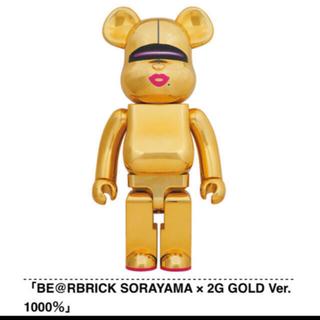 メディコムトイ(MEDICOM TOY)のBE@RBRICK 2G GOLD Ver. 1000%(その他)