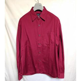 agnes b. - 古着 アニエスベー 赤 シャツ 胸ポケット 長袖 ビームス
