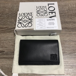 LOEWE - 美品 ロエベ カードケース 名刺入れ レザー ブラック