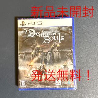 プレイステーション(PlayStation)のPS5 ソフト Demon's souls  デモンズソウル 新品未開封(家庭用ゲームソフト)