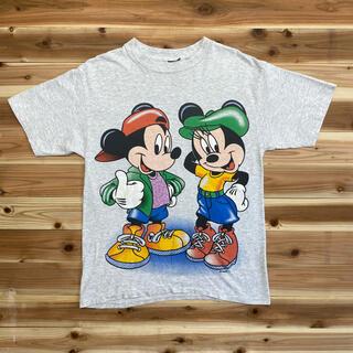 Disney - 90sディズニーTシャツUSA製両面プリント