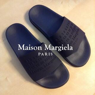 マルタンマルジェラ(Maison Martin Margiela)の新品 40 20ss マルジェラ ラバー シャワーサンダル  9540(サンダル)