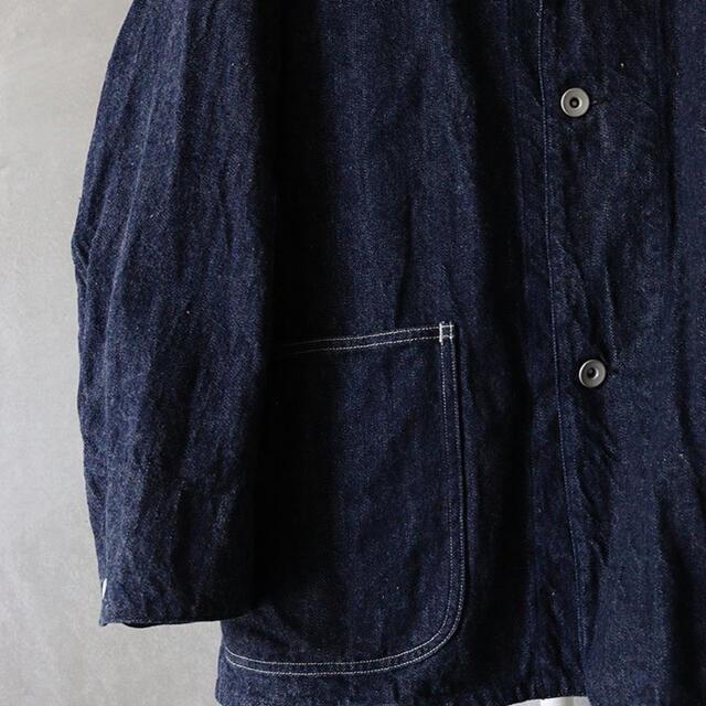 COMOLI(コモリ)のCOMOLI  デニムワークジャケット メンズのジャケット/アウター(Gジャン/デニムジャケット)の商品写真