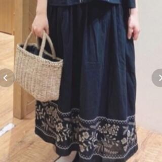 SM2 - SM2 サマンサモスモス 夏のお花とスカラップスカート 美品