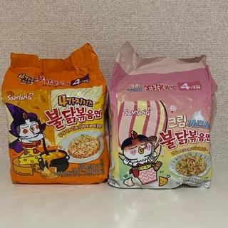 チーズ&クリーム カルボ プルダック ポックンミョン 計8袋セット ★日本未発売