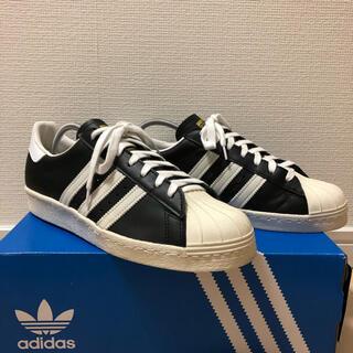 adidas - 【美品】アディダス スーパースター 80s 26cm ブラック
