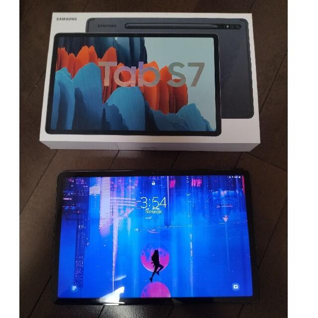 SAMSUNG(サムスン)のSamsung Galaxy Tab S7 ほぼ未使用 スマホ/家電/カメラのPC/タブレット(タブレット)の商品写真