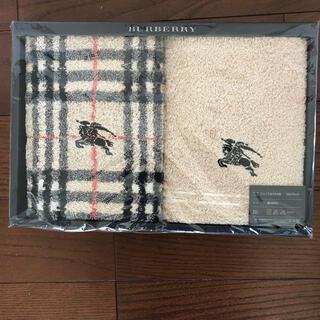 BURBERRY - BURBERRY バーバリー フェイスタオル 2点セット 新品未使用