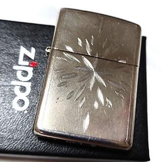 ZIPPO - ZIPPO  SILVER PLATE ジッポー          ☆ 銀メッキ