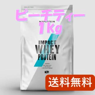 MYPROTEIN - マイプロテイン ピーチティー 1kg【新品未開封】