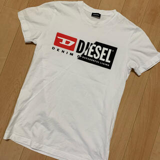 ディーゼル(DIESEL)のDIESEL ディーゼル Tシャツ Sサイズ ホワイト 白(Tシャツ(半袖/袖なし))