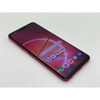 エルジーエレクトロニクス(LG Electronics)の[1100] LG G8 ThinQ 128GB レッド SIMフリー(スマートフォン本体)