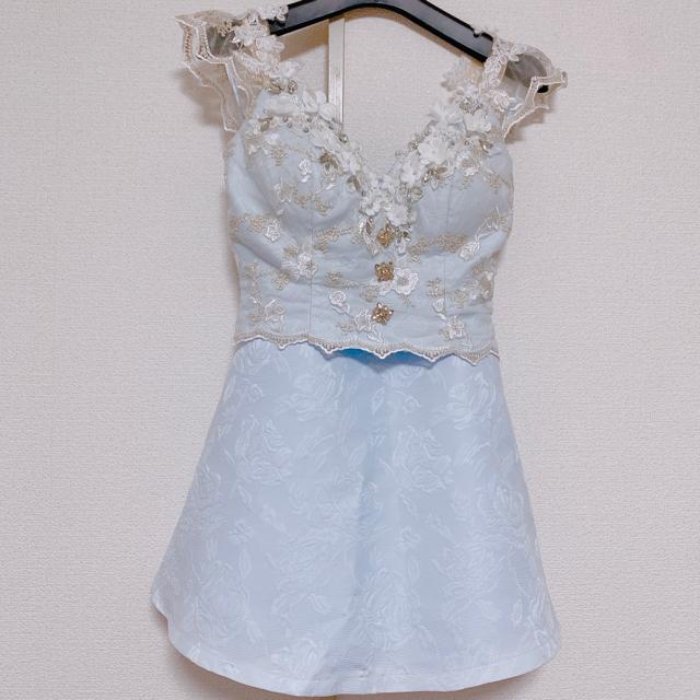 ROBE(ローブ)のROBE de FLEURS キャバドレス レディースのフォーマル/ドレス(ミニドレス)の商品写真