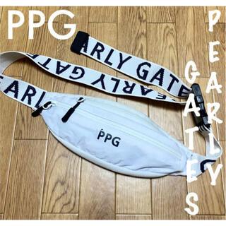PEARLY GATES - 美品⛳️パーリーゲイツ PPG  ウエストポーチ ゴルフバッグ
