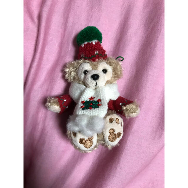 ダッフィー(ダッフィー)の♡ダッフィー♡ストラップ♡クリスマス エンタメ/ホビーのおもちゃ/ぬいぐるみ(キャラクターグッズ)の商品写真